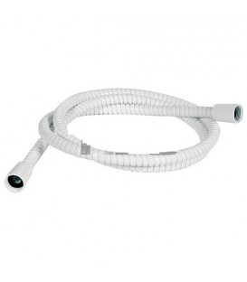 Flexible de douche Powerflex blanc