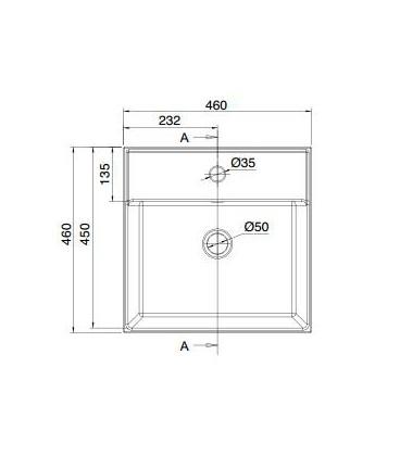 Teorema vasque/lavabo à poser et suspendu 46R