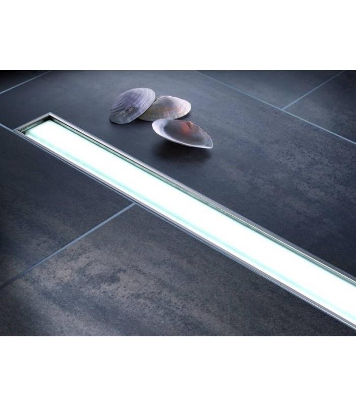 caniveau de douche linearis comfort light kessel pour. Black Bedroom Furniture Sets. Home Design Ideas