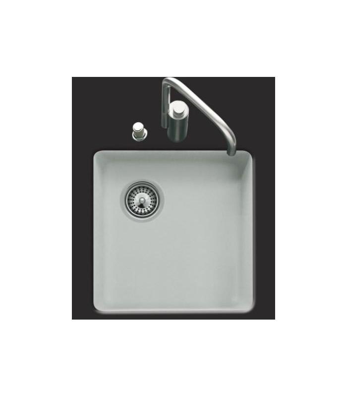 cuve sous plan carr e cristalite js pour votre cuisine. Black Bedroom Furniture Sets. Home Design Ideas