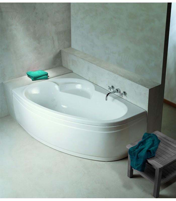 baignoire gain de place ladiva aquarine pour sanitaires. Black Bedroom Furniture Sets. Home Design Ideas