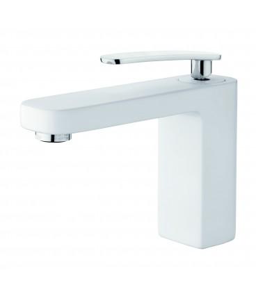 Mitigeur lavabo blanc