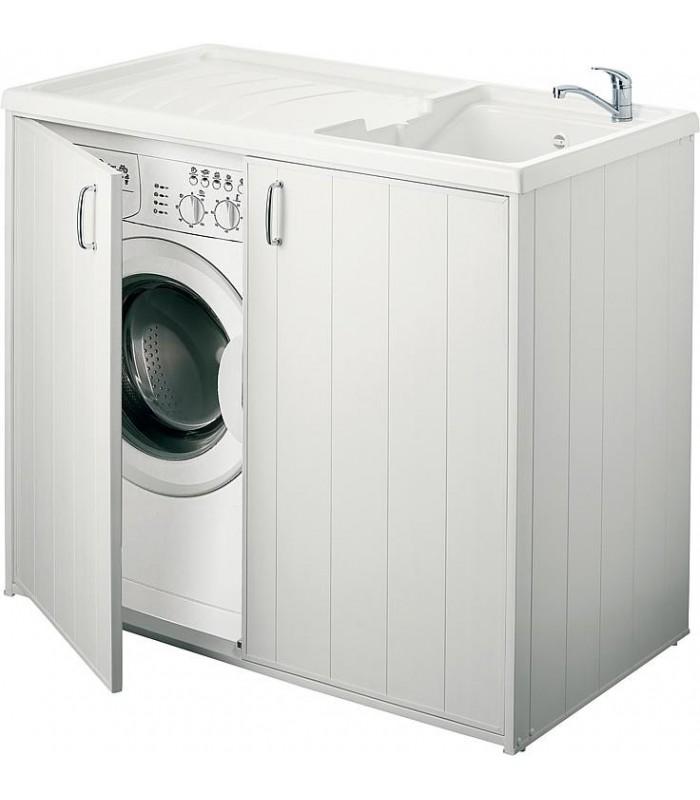 bac laver avec meuble 2 portes banyo pour sanitaires. Black Bedroom Furniture Sets. Home Design Ideas